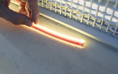 Here's what happens to a 220V LED strip after more than a year of outdoor use