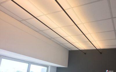Illuminazione ufficio con TESEO