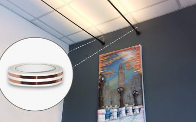 How to extend the electrical system without breaking the walls with the new electrical adhesive tape