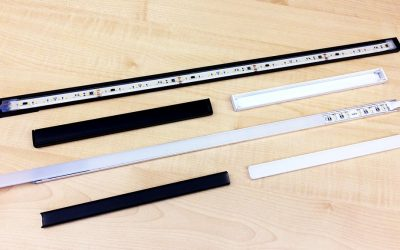New aluminum profiles PR101 and PR115 to also install IP68 and 220V LED strips
